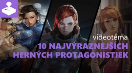 10 najvýraznejších herných protagonistiek - videotéma