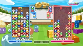 Puyo Puyo Tetris - Garbage Management
