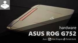Asus ROG G752 - videopohľad