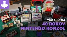 Nintendo pôsobí už 40 rokov v konzolovom biznise