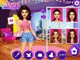 Selena Gomez obliekanie