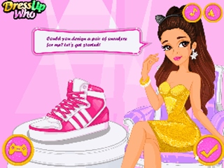 Ariana Grande Sneaker Designer