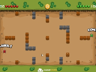 Micro Tank Battle - Action HTML game | Onlinegamesector com