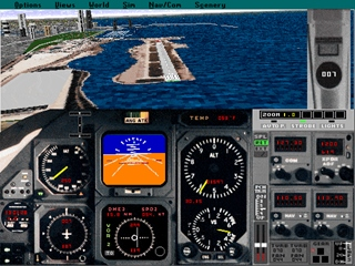 Microsoft Flight Simulator 5 (1993)