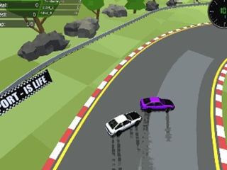 Fantastic Pixel Car Racing