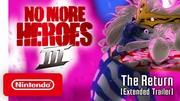 No More Heroes 3 sa pripomína štýlovým anime trailerom