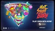 Hot Shot Burn približuje prichádzajúcu humornú a násilnú párty v aréne