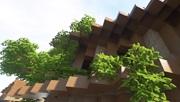 Ukážka Minecraftu s raytracingom, realistickými textúrami a Seus PTGI E7.1