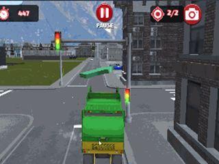 Simulátor smetiarskeho auta