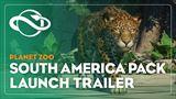 Planet Zoo dostáva DLC s obsahom z Južnej Ameriky