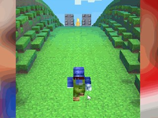 Super Mario Minecraft Run