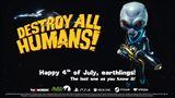 Destroy All Humans! predčasne oslavuje Deň nezávislosti