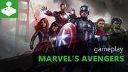 Prvých 8 minút z Marvel's Avengers (CZ)