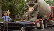 Skrytá kamera - zabetónované auto