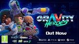 Chaotická 2D akčná platformovka Gravity Heroes vyšla na konzolách