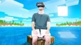 Chlapík strávil 24 hodín vo virtuálnej realite v Minecrafte