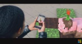 Microsoft teasuje mobilnú AR Minecraft hru