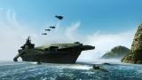 Carrier Command vyzerá pôsobivo