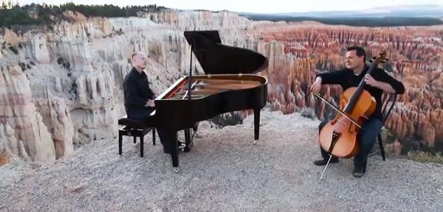 Piano Guys - Cello Song - Bach
