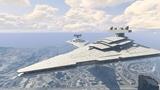 Mod pre PC verziu GTA V prid�va funk�n� lo� Star Destroyer zo Star Wars