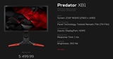 Acer predstavil nov� 24 palcov� monitor so 144hz refreshom