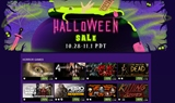 Steam spustil Halloweenske z�avy