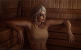 Netradi�n� cosplay Ciri v saune