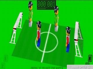 Lego futbal