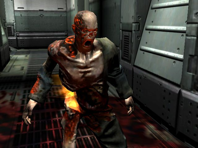 Doom 3  E3 movie (cam)