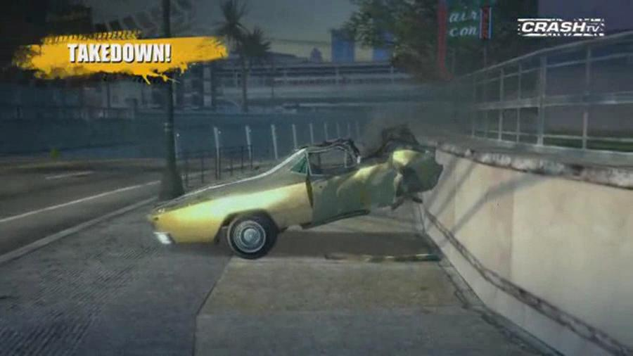 Burnout Paradise PC - Crash TV