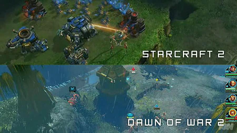 Starcraft 2 vs Dawn of War 2