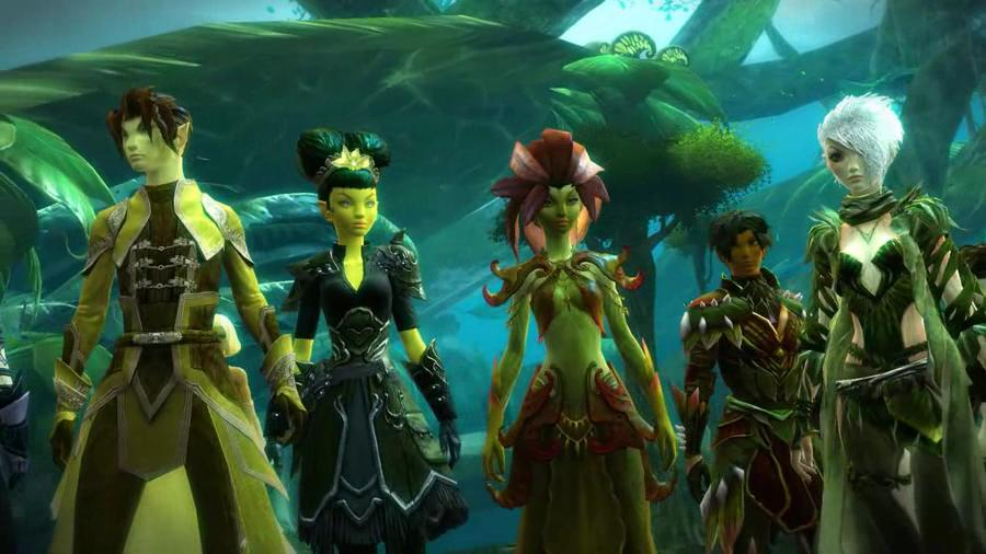 Guild Wars 2 - Races Of Tyria