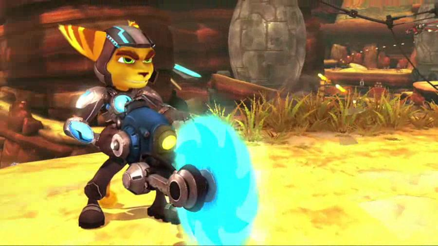Ratchet & Clank A Crack in Time - Spiral of Death