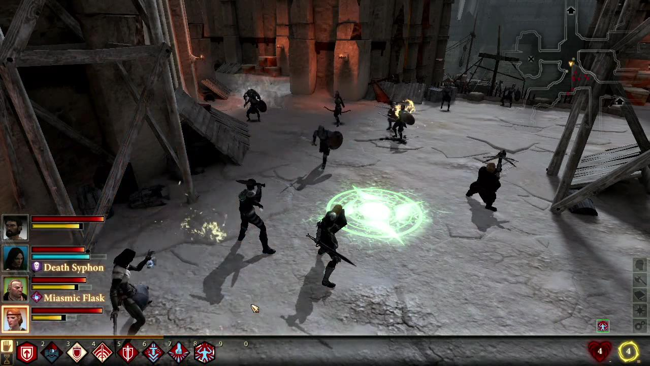 Dragon Age II - Combat system
