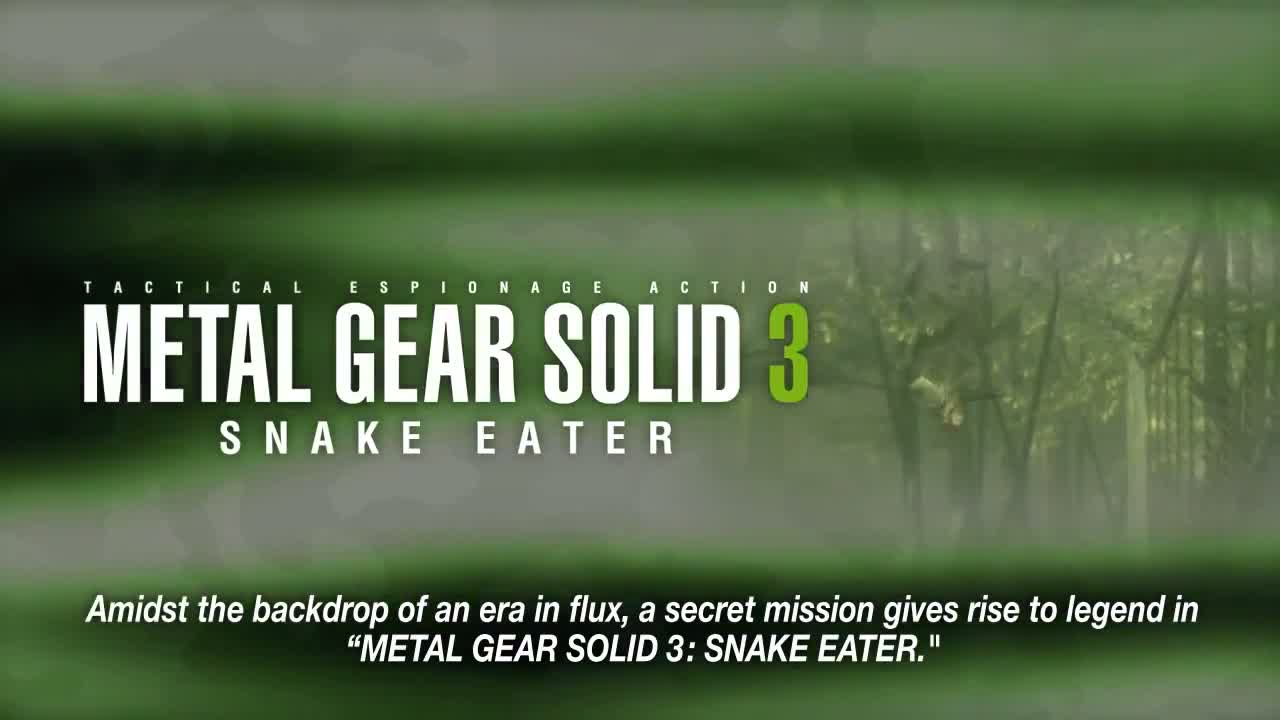 Metal Gear Solid HD - Launch