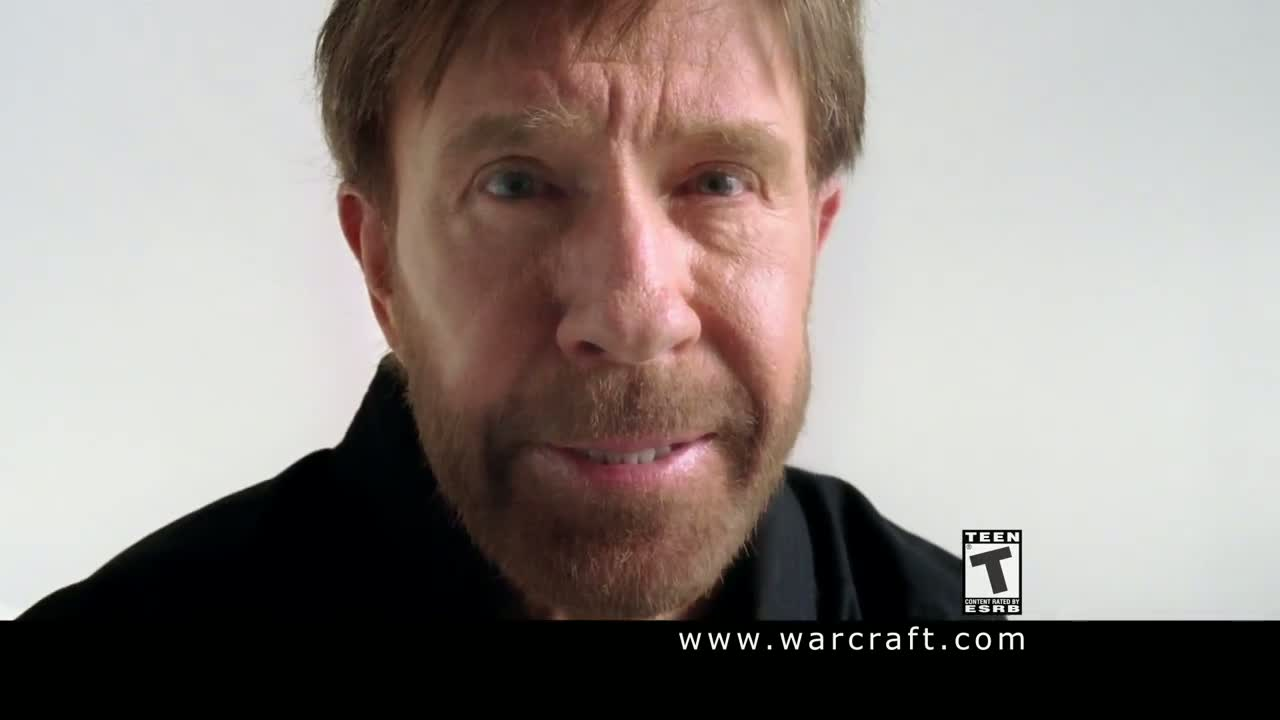 World of Warcraft: Chuck Norris ad