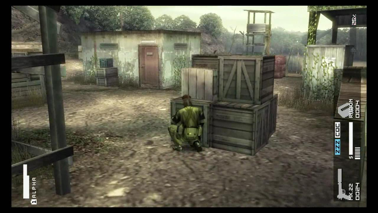 MGS Peace Walker HD - Trailer