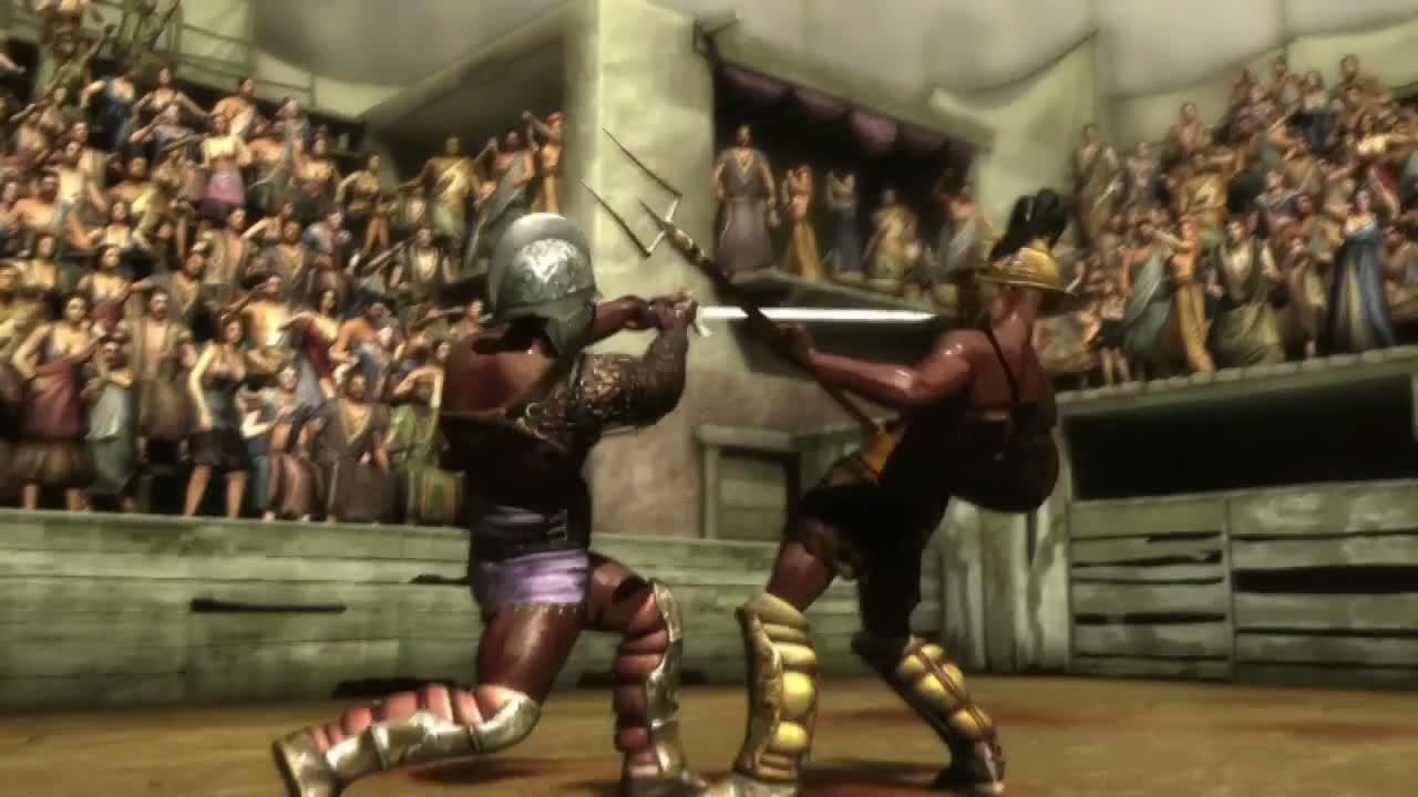 Spartacus krv a piesok orgie