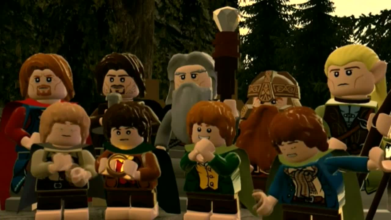LEGO: The Lord of the Rings - iOS Launch