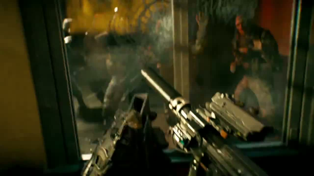 Call of Duty Advanced Warfare - zombie scene