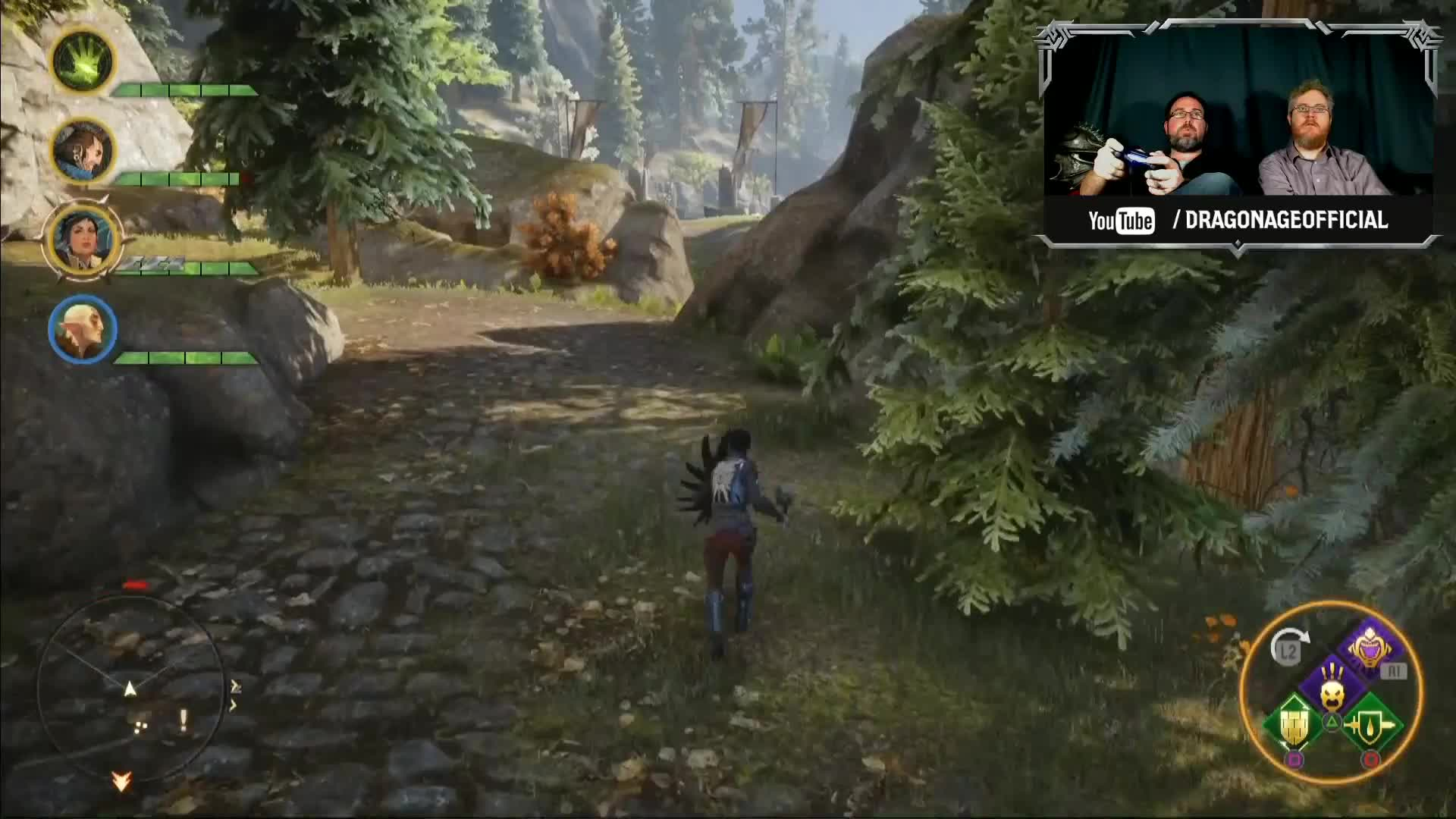 Dragon Age Inquisition - PS4 gameplay