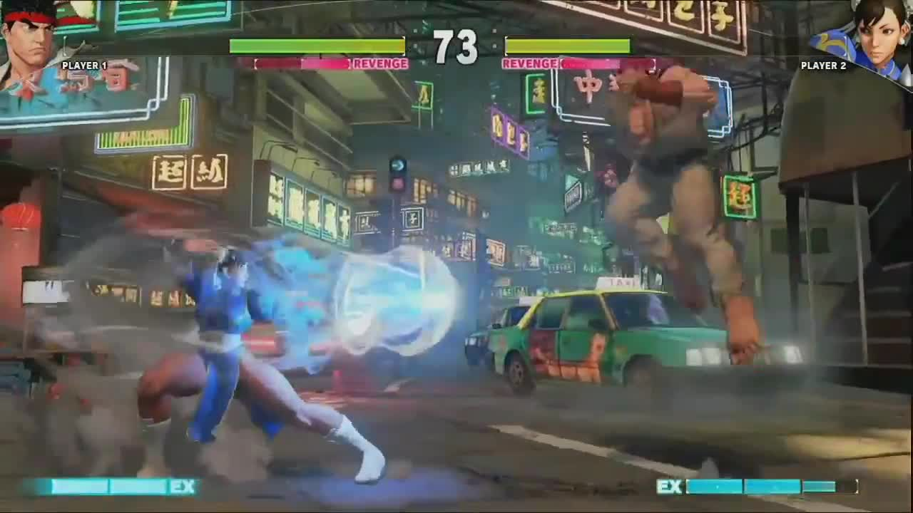 Street Fighter V - Ryu vs Chun Li