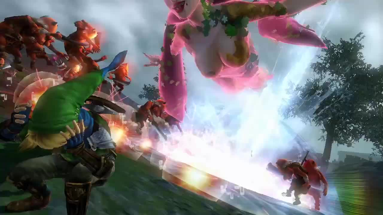 Hyrule Warriors - Features Trailer
