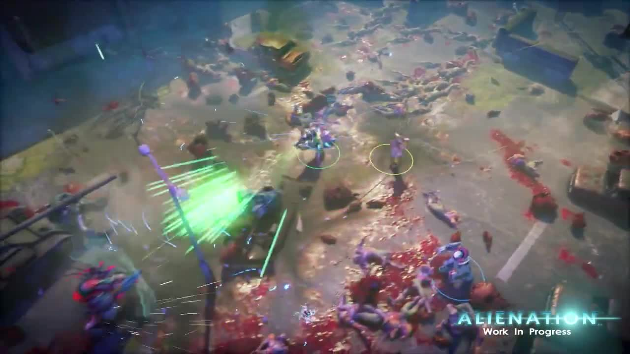 Alienation - Pre-alpha co-op gameplay