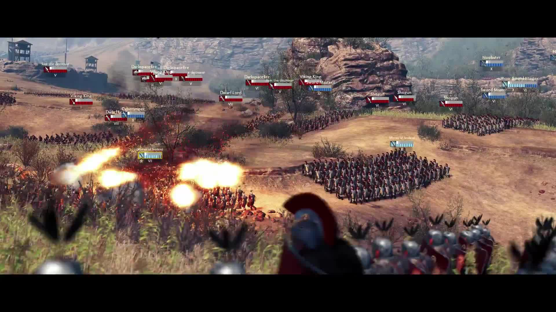 Total War Arena - gameplay