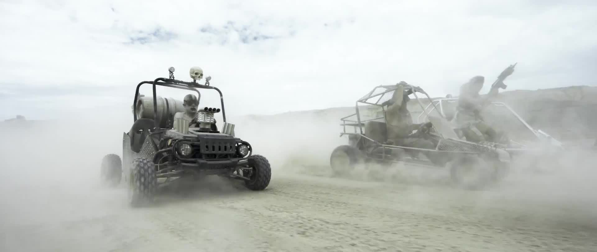 Mad Max - GoKart paintball