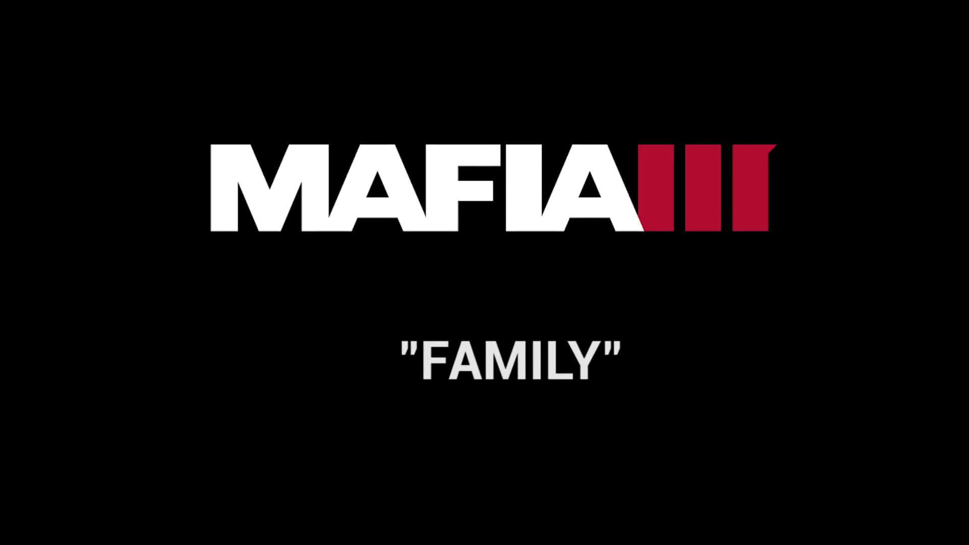 Mafia III Inside look - Family