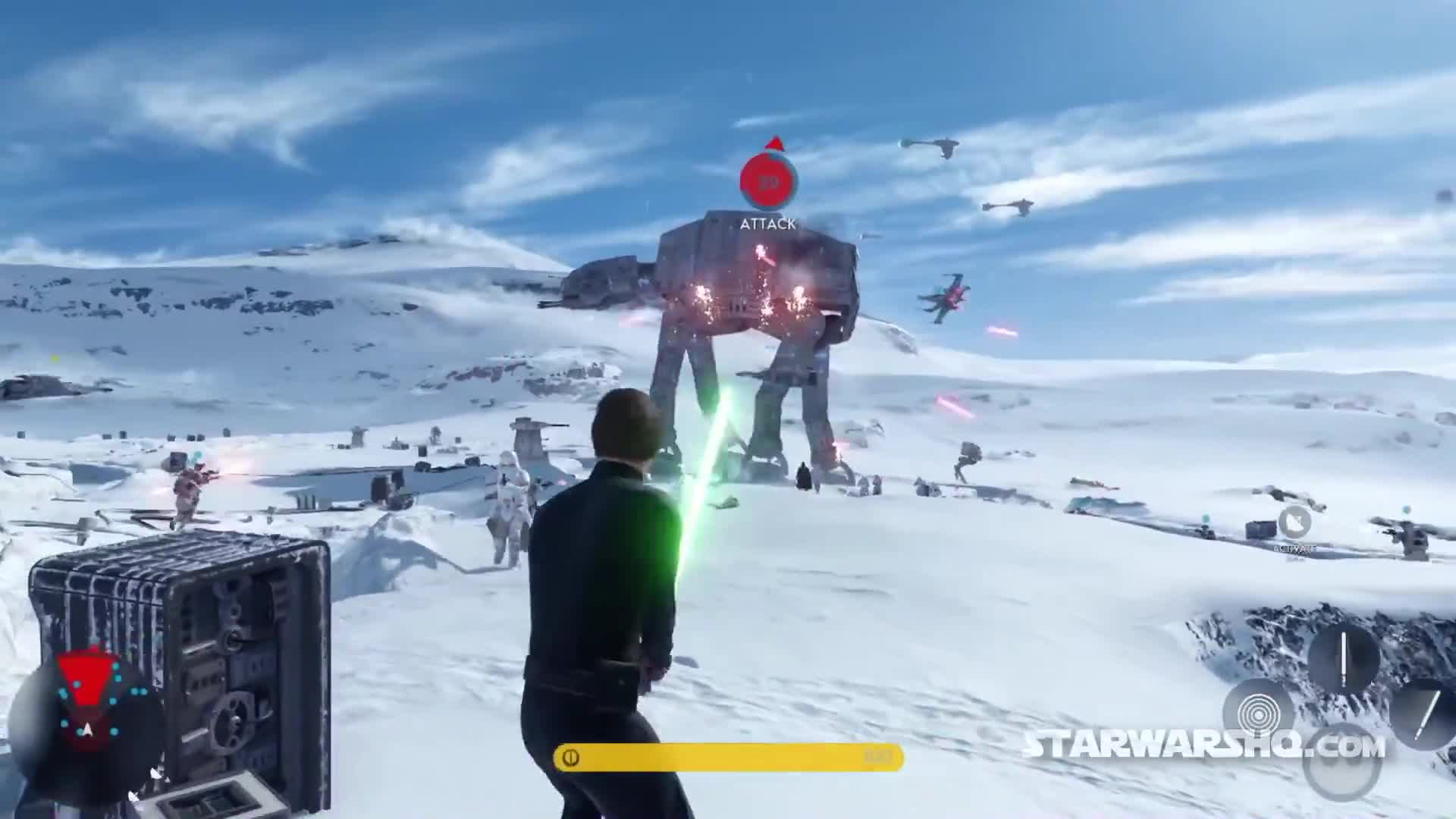 Star Wars Battlefront - fps vs tps