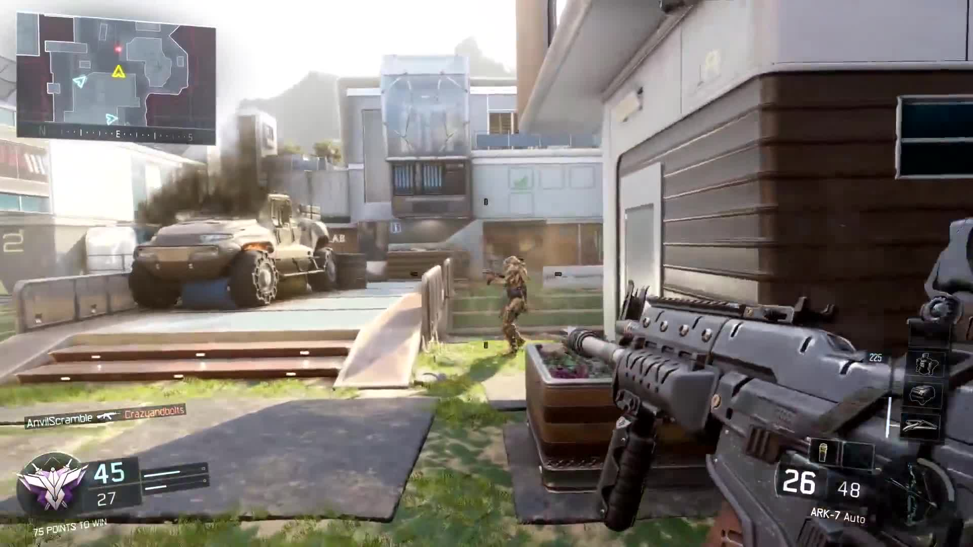 Call of Duty Black Ops 3 - Combat and movement