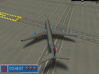 Modern Aircraft 3d parking